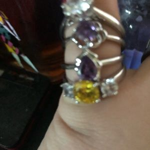 Size 10 sterling silver ring
